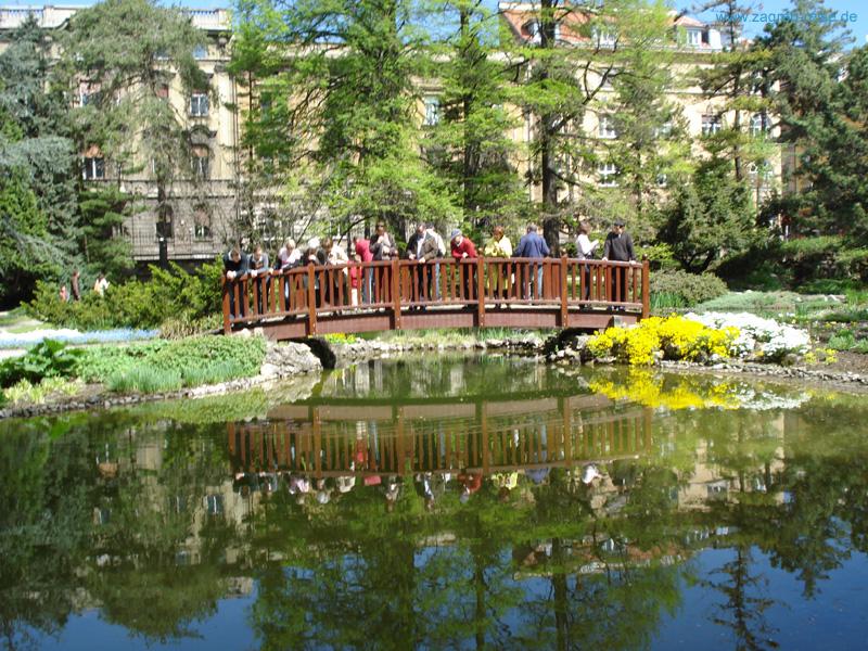 Botanischer garten  Botanischer Garten Zagreb - Das Blumenmeer der Zagreber Unterstadt